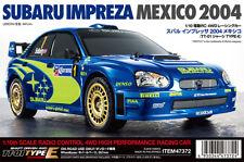 Tamiya 47372 1/10 RC Subaru Impreza Mexico 2004 - TT01E Kit