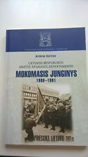Book. First military training unit of of Lithuana 1990-91. in Lithuanian