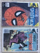 Web of Spider-Man Annuals 1 and 2  NM-   1980s Marvel Comic Books