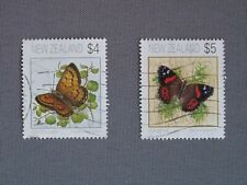 New Zealand stamps - 1995 Butterfly Definitives - Fine Used.