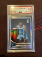 2019 Panini Donruss Optic Ja Morant Rated Rookie Holo Silver RC PSA 9 MINT