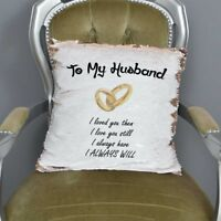 To My Husband Sequin Cushion Magic Reveal Mermaid | Wedding | Christmas
