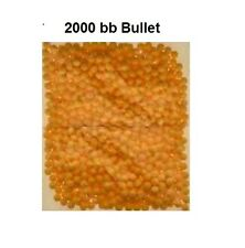 2000 BB Pellets Bullets Ammo High Grade Polished 0.12g  yellow