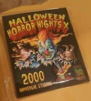 2020 NEW Universal Studios Orlando Halloween Horror Nights Jack Clown Magnet