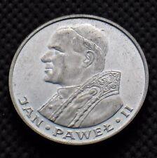 SILVER 1000 ZLOTY 1982 COIN OF POLAND - POPE JOHN PAUL II (JAN PAWEL II) Ag (C)