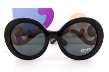 Brand New Prada Sunglasses PR 08TS 1AB 1A1 Black Havana White/Solid Gray Women