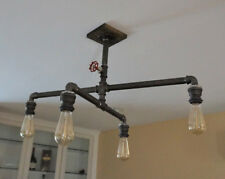 Vintage farmhouse chandelier, industrial chandelier, farmhouse lighting