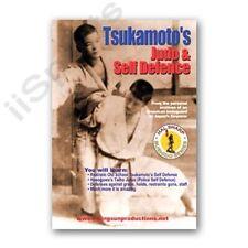 Tsukamoto's Judo & Self Defense Knife punch chokes Dvd Hal Sharp Bushido Rs153
