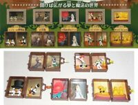 Set 5 Figuras Disney Diorama Personajes Fantastic Voyage Gashapon TOMY Raro