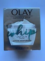 OLAY LUMINOUS WHIP ACTIVE MOISTURIZER 1.7 OZ new