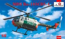 Amodel 1/72 MBB Bo-105 CBS-4 policía alemana # 72355
