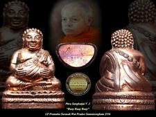 PHRA PIDTA LP RARE OLD THAI BUDDHA AMULET PENDANT MAGIC ANCIENT IDOL#213