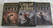 The Mortal Instruments #1 #2 #5 by Cassandra Clare sc