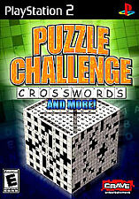 Puzzle Challenge Crosswords and More PS2 Game – New