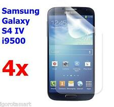 4X Packs Clear LCD Screen Protector Film Cover F0r Galaxy S4 S 4 IV i9500