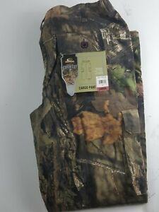 Women's Mossy Oak Break-up Country Camo Cargo Pants Elastic Waist Sz MD