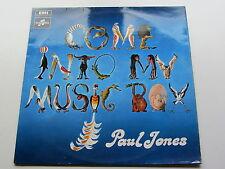 PAUL  JONES ORIGINAL 1969 UK LP    COME IN TO MY MUSIC BOX