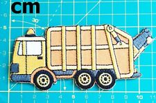 Garbage Truck Cartoon Patch T-shirt Patch Sew Iron on Embroidered DIY Patch