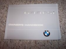 1979 BMW 633CSi 633 CSi Factory Original Owner's Owner User Manual Book