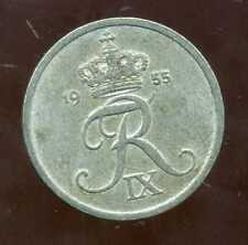 DANEMARK   2 ore 1955   ZINC