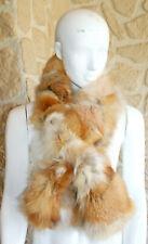 Col de renard neuf en poils de renard étiqueté à 189€  (sg)