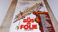 LE BUS EN FOLIE  !   affiche cinema 1976