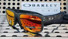 New Oakley HOLBROOK 9102-E955 Sunglasses Black Camo w/ Prizm Ruby Lenses