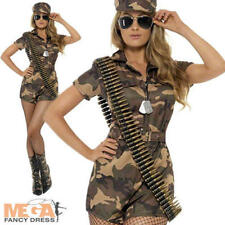 Sexy Army Shorts Jumpsuit Fancy Dress Ladies Military Army Uniform Women Costume