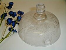 EAPG George Duncan & Son Pressed Glass JAPANESE Butter Dish Lid 1880