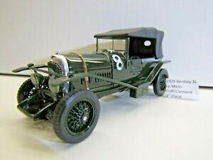 IXO 1:43 Scale Die-cast 1924 Bentley 3 Litre Le Mans Duff / Clement 1st Position