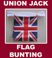 Union Jack Flag Bunting 20 UK United Kingdom Polyester String Bunting Flags