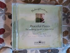 Peaceful Piano  The Art of Aromatherapy CD  Bath and Body Works Stress Relief