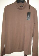 BASLER NIEUWE KWALITEITSVOLLE BRUINE KOLTRUI new brown turtleneck sweater 42