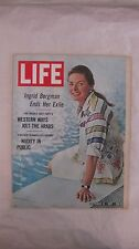 Life Magazine October 13th 1967 Ingrid Bergman Ends Her Exile Published By Time