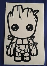 "Baby Groot Apple Macbook Decal 13"" 15"" 17"" Vinyl Air Pro Sticker"
