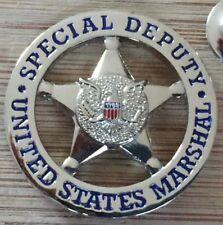 """USMS - US Marshals Service """"SPECIAL DEPUTY"""" version Lapel Pin"""