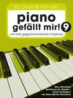 """Piano gefällt mir! Band 9 - 50 Chart und Film Hits + 1 Bleistift """"Musikmotiv"""""""
