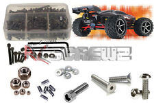 RC Screwz TRA037 Traxxas 1/16th E-Revo VXL Stainless Steel Screw Kit NEW