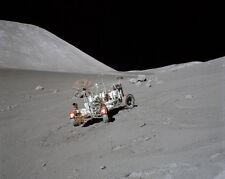 Apollo 17 Mond Rover ( Lrv ) On Moon 8x10 Silber Halogen Fotodruck
