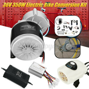 36V 350W Conversion Kit SET Motor Controller fr 24-28 Inch Electric Bicycle