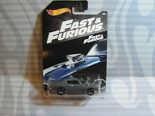 2018 HOT WHEELS ''FAST & FURIOUS'' =  `70 CHEVELLE SS = DARK GRAY  5sp