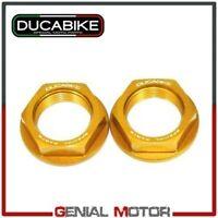 Kit Tuercas rueda trasera Oro KDPR04B Ducabike Ducati Sportclassic Gt1000 2010