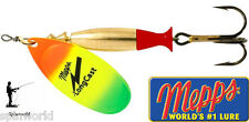 Mepps Long cast TIGER Spinners variety sizes - Cover more water !!!