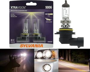 Sylvania Xtra Vision 9006 HB4 55W Two Bulbs Head Light Replacement Low Beam Lamp