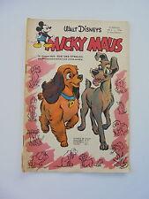 Walt Disney's Micky Maus - Comic Heft Nr. 2 (1956)