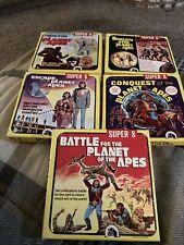 Planet of the Apes Super 8 Films Lot of 5! Pl-1 Pl-2 Pl-3 Pl-4 Pl-5
