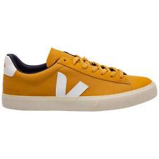 Veja sneakers uomo campo CP132702 giallo logo pelle scarpe sportive