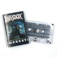 PARADOX Heresy Cassette Tape 1989 Thrash Heavy Metal Rare
