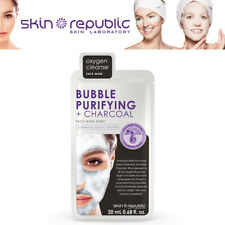 Skin Republic Bubble Purifying + Charcoal Oxygen Cleanse Cara Foam Mask 20ml