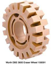 Wurth DBS 3600 Eraser Wheel - 158591